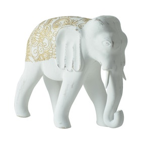 Global Elephant Ornament