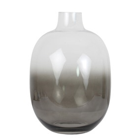 Hotel Ombre Curved Grey Vase
