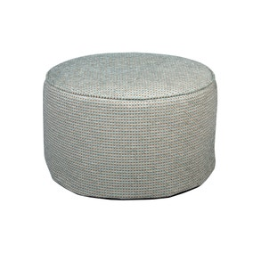 Egypt Duck Egg Pouffe