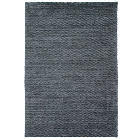 5a Fifth Avenue Charcoal Velvet Loop Rug