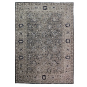 Dorma Luxury Blue Chenille Rug