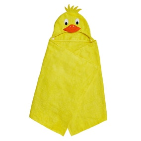 Duck Hooded Poncho