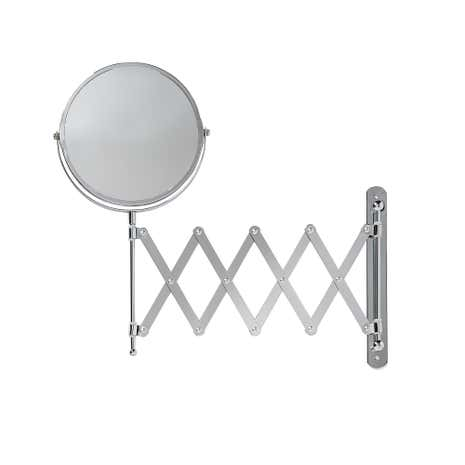 Bathroom Mirror Extendable extendable shaving bathroom mirror | dunelm