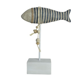Striped Wooden Fish
