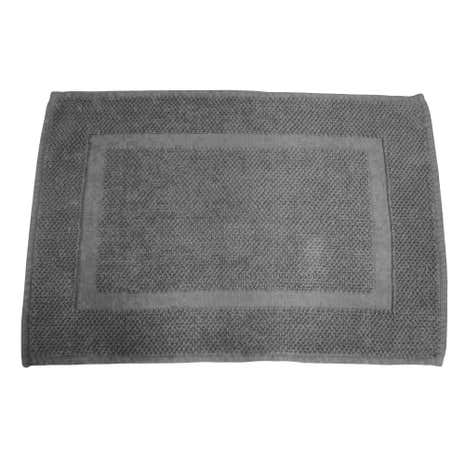 Hotel Grey Cotton Bath Mat
