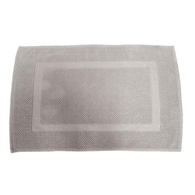 Hotel Putty Cotton Bath Mat