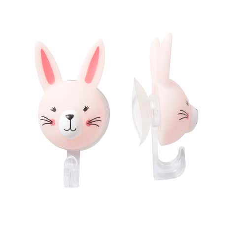 Pack of 2 Katy Rabbit Suction Hooks