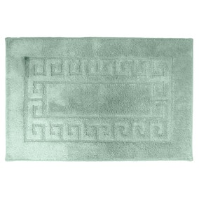 Luxury Sea Foam Cotton Non-Slip Bath Mat