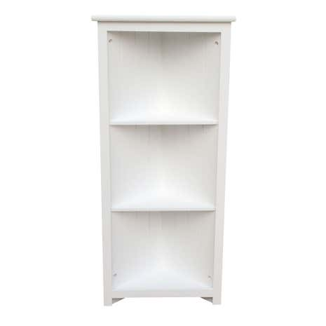 White Nautical Corner Shelves