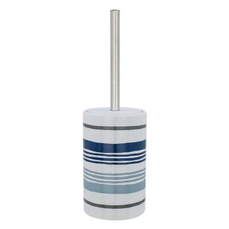 Nautical Striped Toilet Brush
