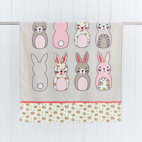 Katy Rabbit Bath Towel