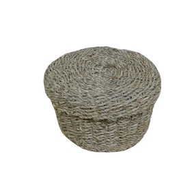 Seagrass Round Basket