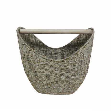 seagrass toilet roll holder basket