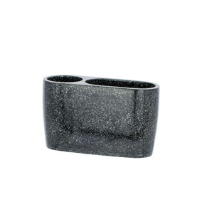 Sparkle Black Electric Toothbrush Holder