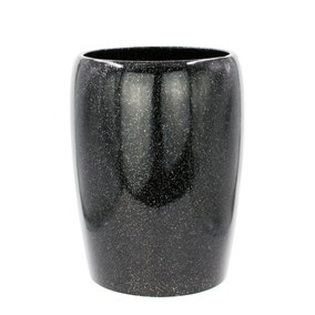 Sparkle Black Waste Bin
