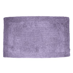 Super Soft Lavender Reversible Bath Mat