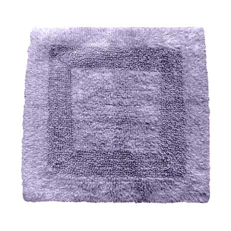 Super Soft Lavender Reversible Shower Mat