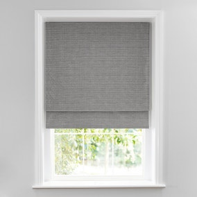 Glimmer Silver Lined Roman Blind