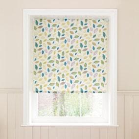 Green Leaves Daylight Roller Blind