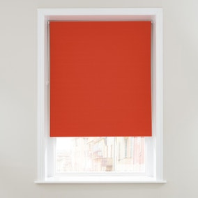 Luna Burnt Orange Blackout Roller Blind