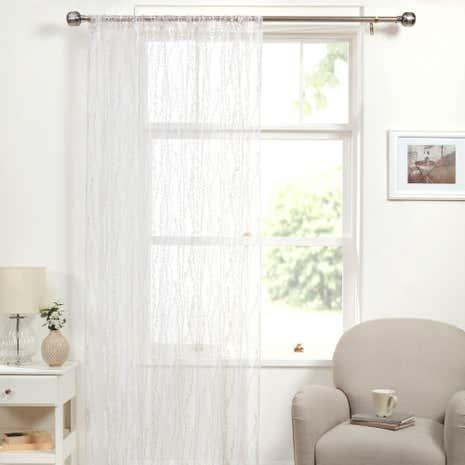 Annabelle Natural Voile Panel