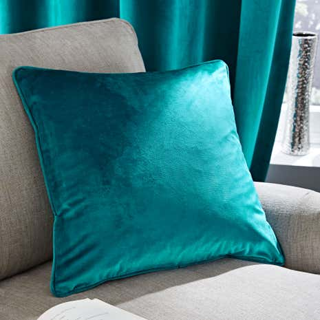Ashford Teal Cushion