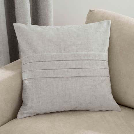 Chenille Silver Cushion