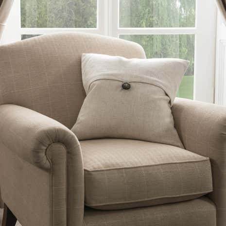 Dorma Chatsworth Linen Cushion