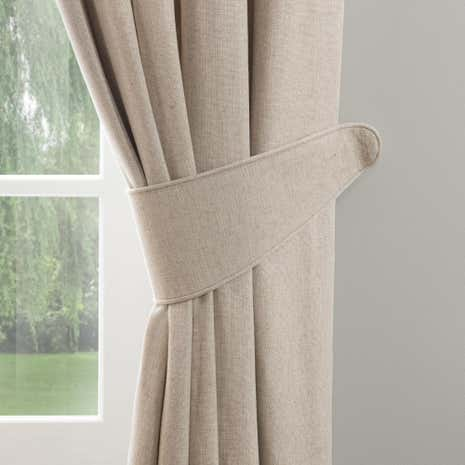 Dorma Chatsworth Linen Tiebacks