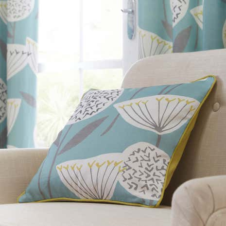 Emmott Teal Cushion