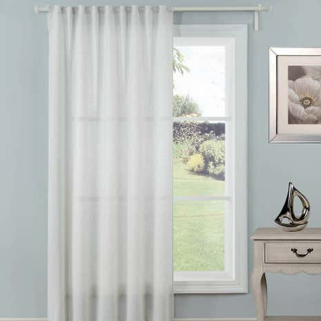 Glisten Natural Slot Top Voile