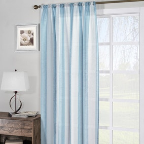 Hayle Blue Slot Top Voile Panel