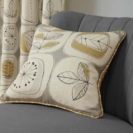 Modern Nature Ochre Cushion