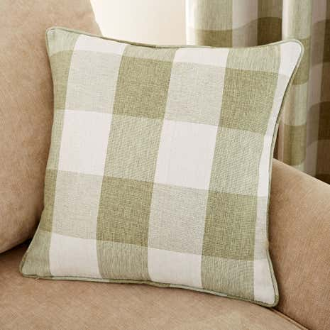Skye Green Cushion