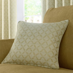 Trellis Green Cushion