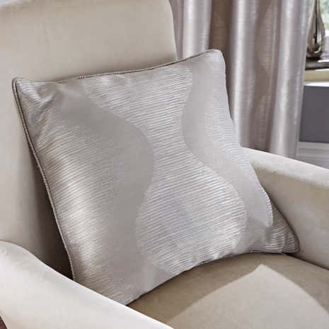 Valentina Silver Cushion