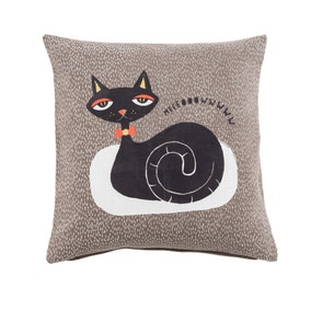 Cats Grey Cushion