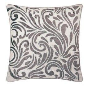 Charlotte Pewter Cushion