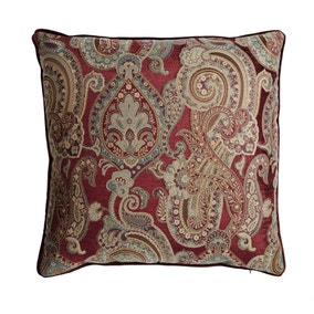 Dorma Red Arlington Cushion