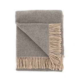 Dorma Bromley Grey Throw