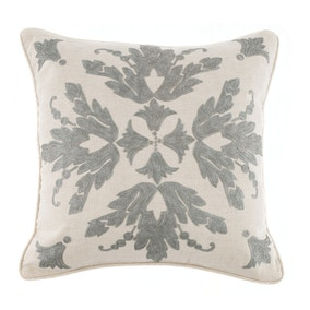 Dorma Evelina Grey Cushion