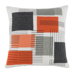 Elements Orange Jackson Cushion