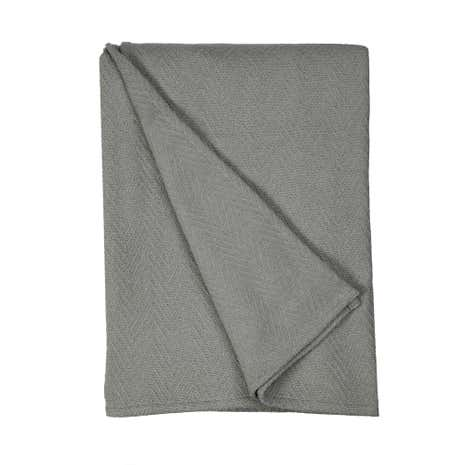 Grey Hampton Throw