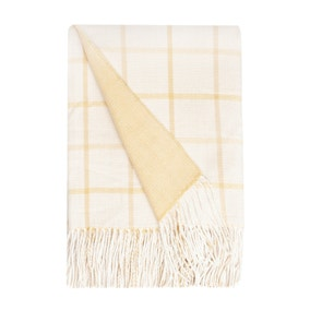 Harrison Ochre Throw