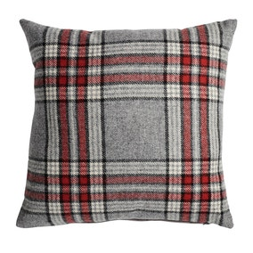 Harvey Red Check Cushion