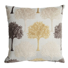 Trees Velvet Cushion