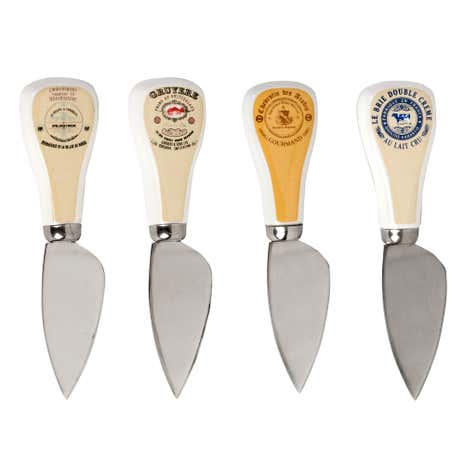 Gourmet Set of 4 Cheese Knives