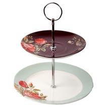 V&A Rose Chintz Cake Stand