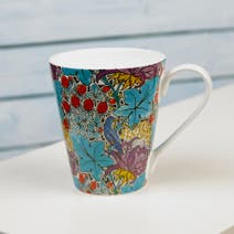 V&A Voysey Bird 'n' Strawberry Mug in a Box