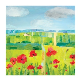 Poppy Printed Canvas